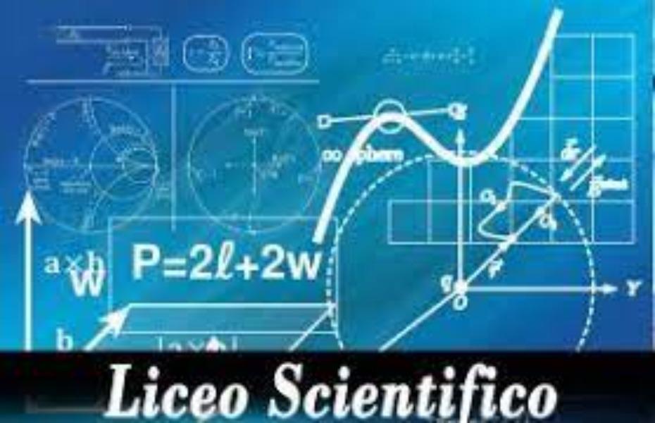 Liceo scientifico - Scienze Applicate - Scienze Umane